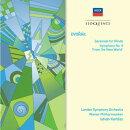【輸入盤】 交響曲第9番『新世界より』、管楽セレナード ケルテス&ウィーン・フィル、ロンドン響団員