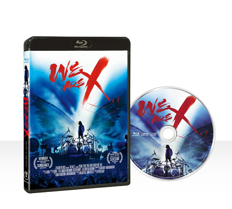 WE ARE X Blu-ray スタンダード・エディション【Blu-ray】 [ X JAPAN ]
