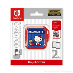 サンリオキャラクターズ カードポッドfor Nintendo Switch ハローキティ