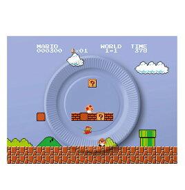 スーパーマリオ ホーム&パーティ ペーパープレートセット (8-bit ステージ)