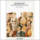 【輸入楽譜】レスピーギ, Ottorino: リュートのための古風な舞曲とアリア 第1組曲ー第3組曲: 大型スコア