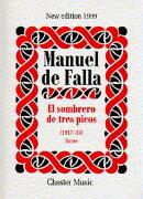 【輸入楽譜】ファリャ, Manuel de: バレエ音楽「三角帽子」全曲: スタディ・スコア