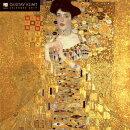 Gustav Klimt 2019 Square Glitter Flame Tree