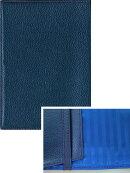 本革オリジナルブックカバー(文庫サイズ) B05:パールブルー