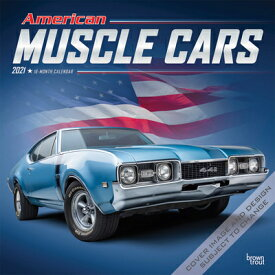 American Muscle Cars 2021 Square Foil AMER MUSCLE CARS 2021 SQUARE F [ Browntrout ]