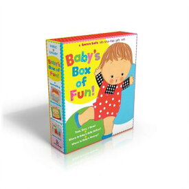 Baby's Box of Fun: A Karen Katz Lift-The-Flap Gift Set: Toes, Ears, & Nose!/Where Is Baby's Belly Bu BOXED-BABYS BOX OF FUN BOXE 3V [ Karen Katz ]