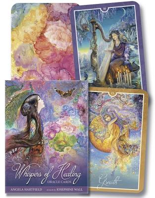 Whispers of Healing Oracle Cards WHISPERS OF HEALING ORACLE CAR [ Angela Hartfield ]