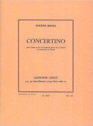 【輸入楽譜】ボザ, Eugene: チューバまたはバス・トロンボーンのためのコンチェルティーノ(小協奏曲)
