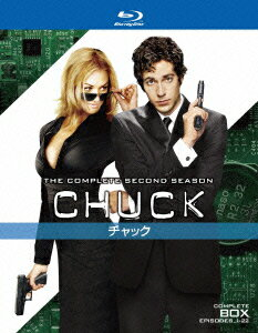 CHUCK/チャック≪セカンド・シーズン≫コンプリートボックス【Blu-ray】 [ ザッカリー・リーヴァイ ]