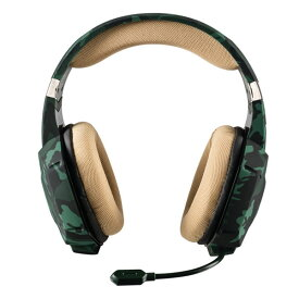TRUST GAMING-GXT 322C Gaming Headset - green camouflage-20865