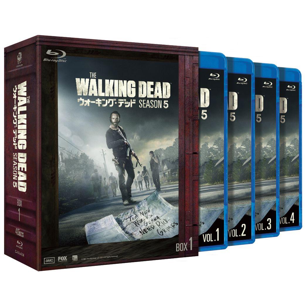 ウォーキング・デッド5 Blu-ray BOX-1 【Blu-ray】 [ アンドリュー・リンカーン ]