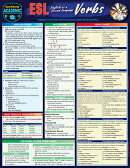 ESL - English as a Second Language - Verbs: A Quickstudy Laminated Reference Guide