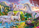 Unicorn Castle 1000-Piece Puzzle UNICORN CASTLE 1000-PIECE PUZZ [ Image World ]