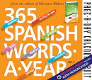 365 Spanish Words-A-Year Page-A-Day Calendar