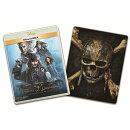 【予約】パイレーツ・オブ・カリビアン/最後の海賊 MovieNEX プラス3Dスチールブック(オンライン数量限定商品)