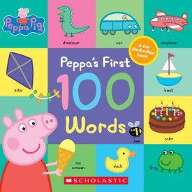 Peppa's First 100 Words PEPPA PIG PEPPAS 1ST 100 WORDS (Peppa Pig) [ Eone ]