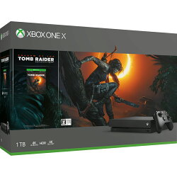 Xbox One X (シャドウ オブザ トゥーム レイダー同梱版)