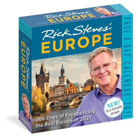 Rick Steves' Europe Page-A-Day Calendar 2021 2021 RICK STEVES EUROPE PAGE-A [ Workman Publishing ]