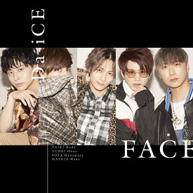 FACE (初回限定盤A CD+DVD) [ Da-iCE ]