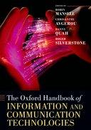 The Oxford Handbook of Information and Communication Technologies【バーゲンブック】