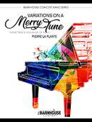 【輸入楽譜】ラプラント, Pierre: シューマンの愉快な旋律による変奏曲: フル・スコアとパート譜セット