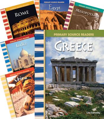First Civilizations 6-Book Set (Primary Source Readers: World History) 1ST CIVILIZATIONS 6-BK SET (PR (Teacher Created Materials Library) [ Teacher Created Materials ]