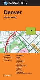 Folded Map Denver Co