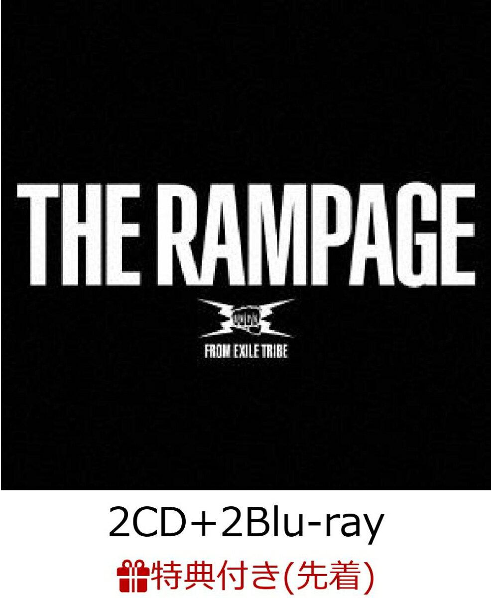 【先着特典】THE RAMPAGE (2CD+2Blu-ray) (B2ポスター付き) [ THE RAMPAGE from EXILE TRIBE ]