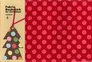 クリスマス ブックカバー&ツリーしおり付 XTC-07 G