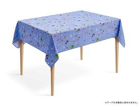 スーパーマリオ ホーム&パーティ テーブルクロス(8-bitパーティ柄[ブルー])