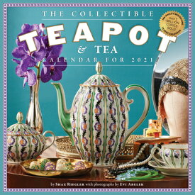 Collectible Teapot & Tea Wall Calendar 2021 2021 COLLECTIBLE TEAPOT & TEA [ Workman Publishing ]