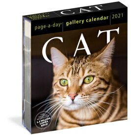 CAT GALLERY CALENDAR 2021(PAGE-A-DAY) [ WORKMAN ]