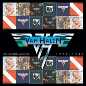 【輸入盤】Studio Albums 1978-1984 (Ltd)(Box) [ Van Halen ]