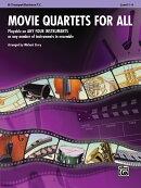 【輸入楽譜】四重奏のための映画音楽集 - トランペット & バリトン T.C./ストーリー編曲