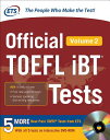 OFFICIAL TOEFL IBT TESTS VOLUME 2(P) [ EDUCATIONAL TESTING SERVICE ]