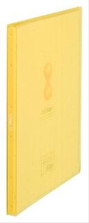 クリアーファイル ヒクタス(透明) スティック・タイプ A4タテ 40ポケット 黄