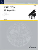 【輸入楽譜】カプースチン, Nikolai: 10のバガテル Op.59