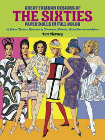 GREAT FASHION DESIGNS OF THE SIXTIES PAP [ TOM TIERNEY ]