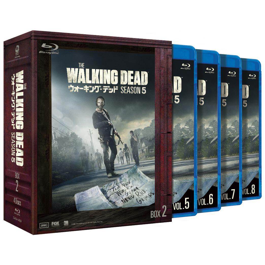 ウォーキング・デッド5 Blu-ray BOX-2【Blu-ray】 [ アンドリュー・リンカーン ]