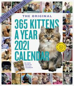 365 KITTENS-A-YEAR WALL CALENDAR 2021 [ WORKMAN PUBLISHING ]