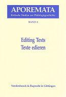 Editing Texts/Texte Edieren