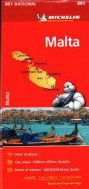 Michelin Malta Map 801