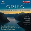 【輸入盤】ピアノ協奏曲、劇音楽『ペール・ギュント』より ジャン=エフラム・バヴゼ、エドワード・ガードナー&ベ…
