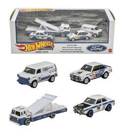 ホットウィール(Hot Wheels) プレミアム コレクターセット アソート - Ford Race Team GMH39-986G