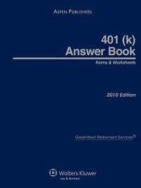 401(k)AnswerBook:Forms&Worksheets