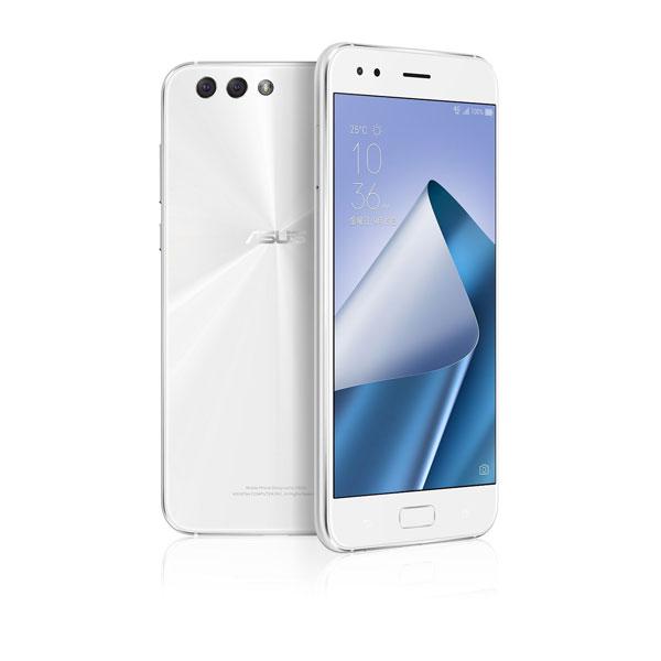 ASUS ZenFone 4 ムーンライトホワイト( Qualcomm Snapdragon 660 / メモリ6G / ストレージ64G / 指紋センサー ) ZE554KL-WH64S6