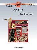 【輸入楽譜】ストロメン, Carl: タップ・アウト: スコアとパート譜セット