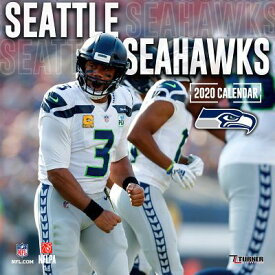 Seattle Seahawks: 2020 12x12 Team Wall Calendar 2020 12X12 TEAM WALL CAL [ Lang Companies ]