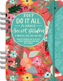 2017 Secret Garden Do It All Planner