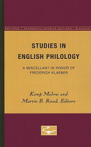 Studies in English Philology